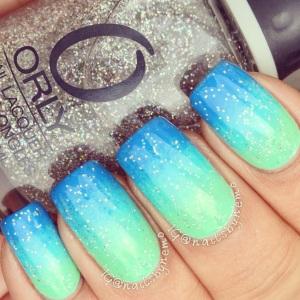 Latest gradient nails