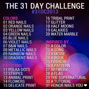 The 31 Day Challenge