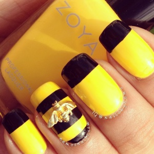 Day 3 – Yellow Nails