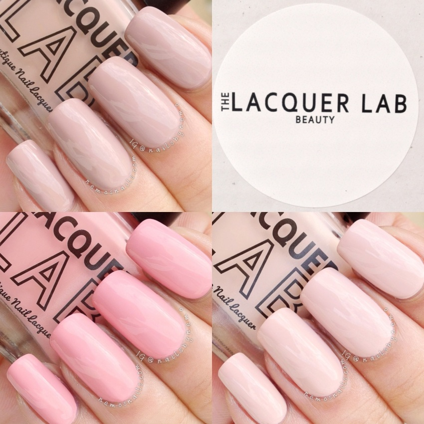 The Lacquer Lab: Naked Ladies swatches