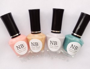 NB Lacquer polishes