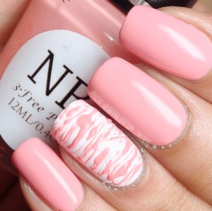 Sugar Spun using Bubble Gum by NB Lacquer.