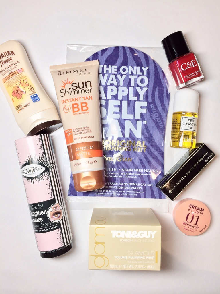 Inside the Glamour edit box