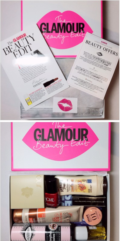 Packaging for Glamour edit box