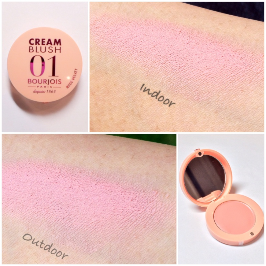 Bourjois Cream Blush 'Nude Velvet'