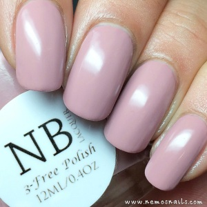 'Vintage Rose' by NB Lacquer (indoor lighting)