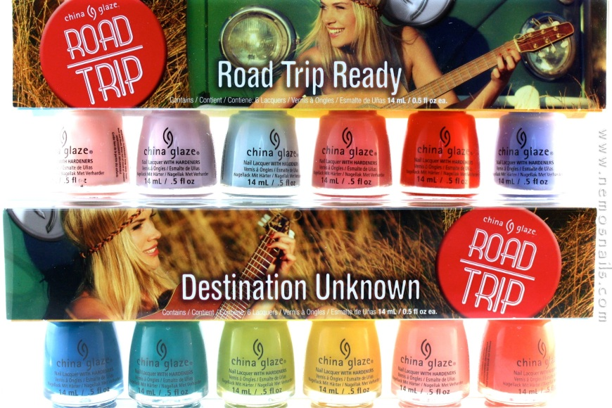 China Glaze Road Trip Collection