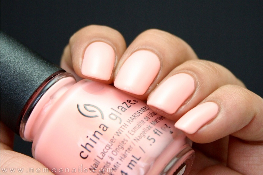 China Glaze Pack Lightly Swatch