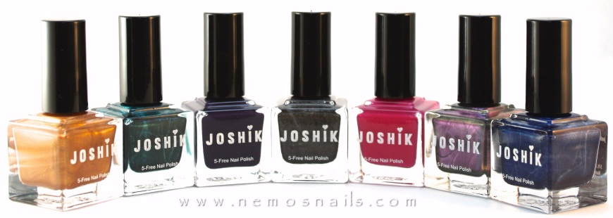 Joshik nail polish bottles