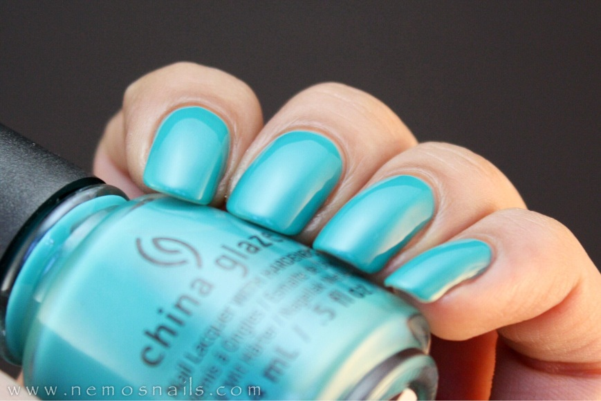 China Glaze My Way or The Highway Swatch