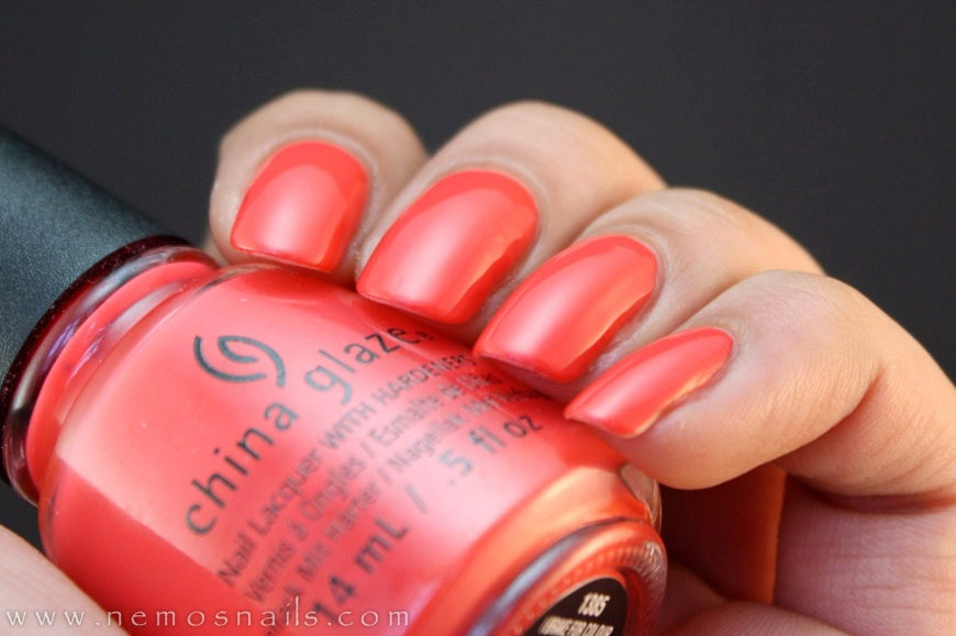 China Glaze I Break For Colour Swatch