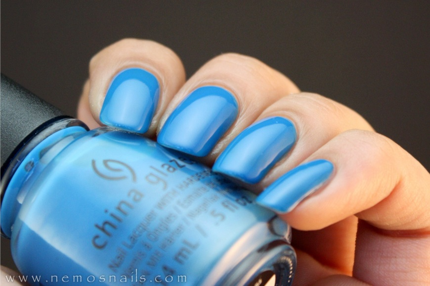 China Glaze Licence and Registration Please Swatch