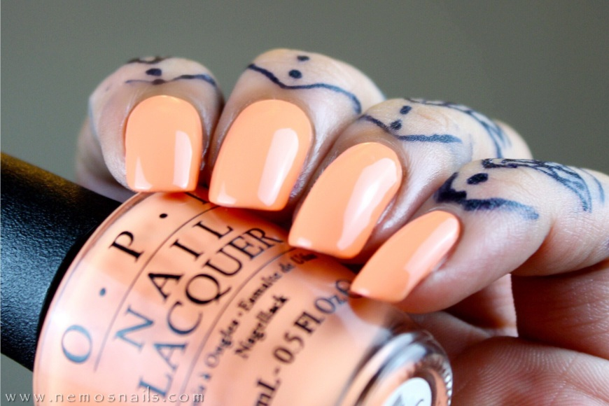 OPI Is Mai Tai Crooked? Swatch