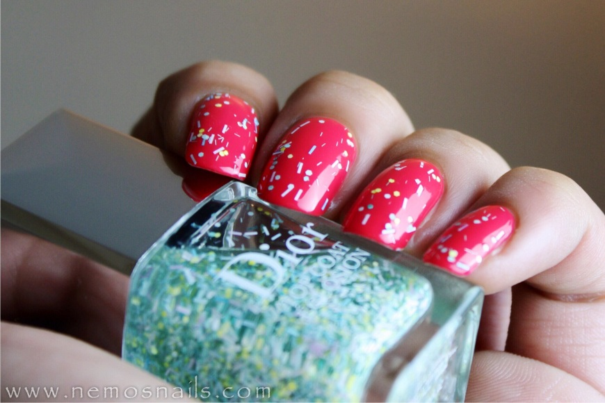 Dior Glory + Eclosion Top coat in Blossom