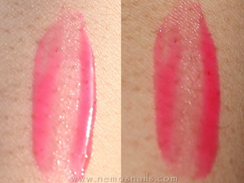 Dior Cheek and Lip glow Swatch
