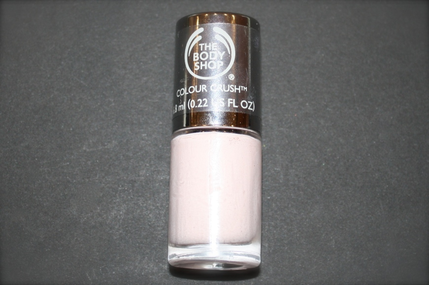 Body Shop Colour Crush Polish in Frosting Fancy